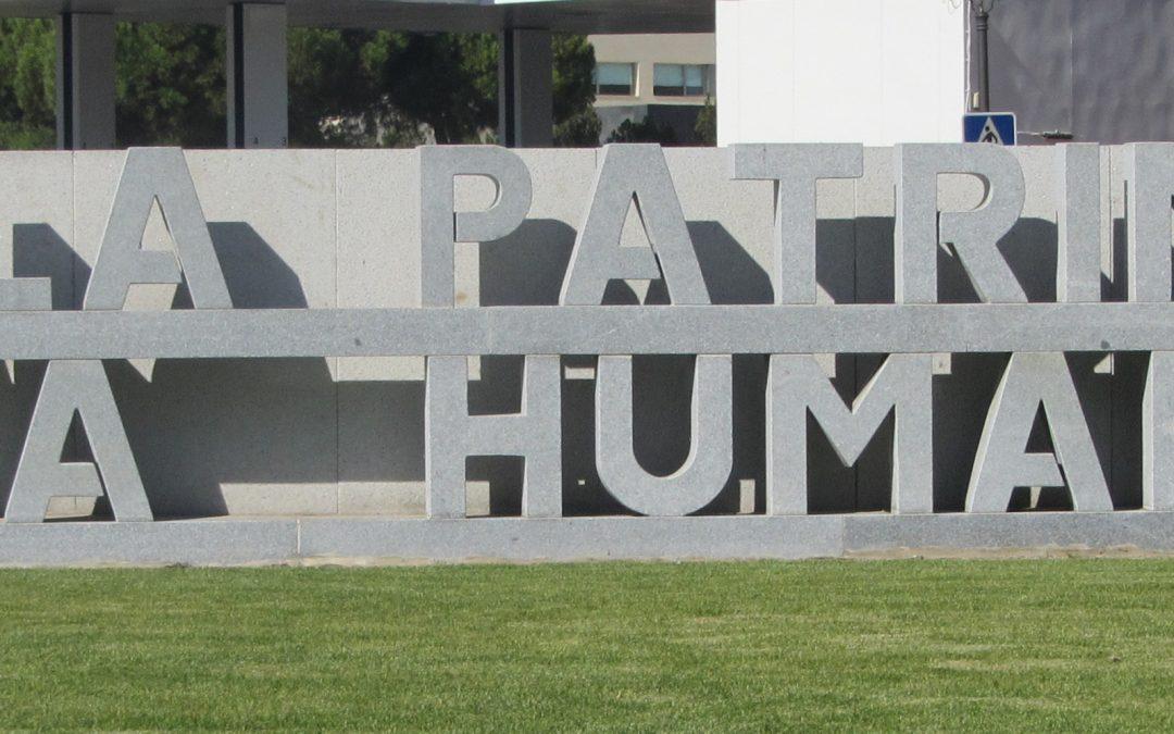 Escultura Alcalá ciudad Patrimonio de la Humanidad