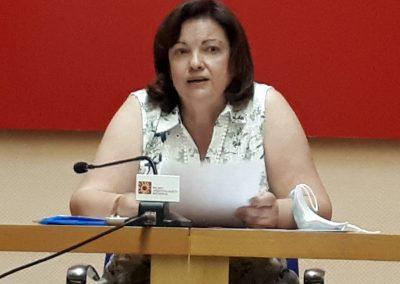 Pilar Lledó Collada, presidenta de la Institución de Estudios Complutenses.