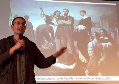 Ángel Carrasco (Conferencia 'Alcalá comunera. Ideología y formas de acción colectiva de un movimiento popular (1520-1521)')