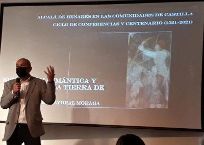 Miguel Mayoral Moraga (Conferencia 'Común y comunidad. Evolución semántica y rebelión en la Tierra de Alcalá')