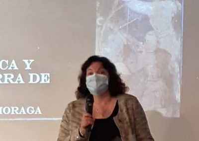 Pilar Lledó (Conferencia 'Común y comunidad. Evolución semántica y rebelión en la Tierra de Alcalá')