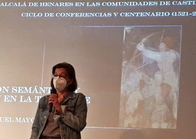 María Aranguren (Conferencia 'Común y comunidad. Evolución semántica y rebelión en la Tierra de Alcalá')