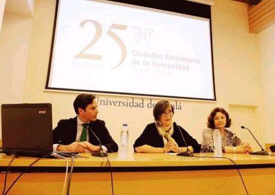 Conferencias Alcalá de Henares XX aniversario Ciudad Patrimonio (12)