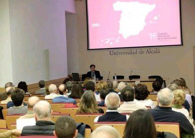 Conferencias Alcalá de Henares XX aniversario Ciudad Patrimonio (13)