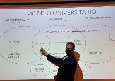 Gómez García (Conferencia 'Del desamparo al conflicto: la Universidad de Alcalá tras la muerte del cardenal Cisneros')