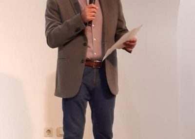 Vicente Sánchez Moltó (Conferencia 'La revolución de las Comunidades de Castilla: un análisis social')