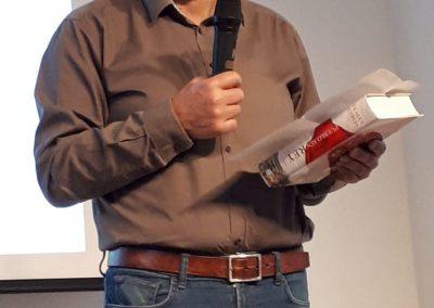 Vicente Sánchez Moltó (Conferencia 'De la historia a la literatura, 'Pueblo sin rey', una novela sobre las Comunidades')