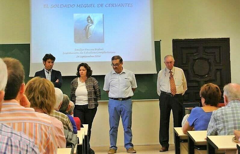 Concluye el ciclo de conferencias dedicado a Cervantes