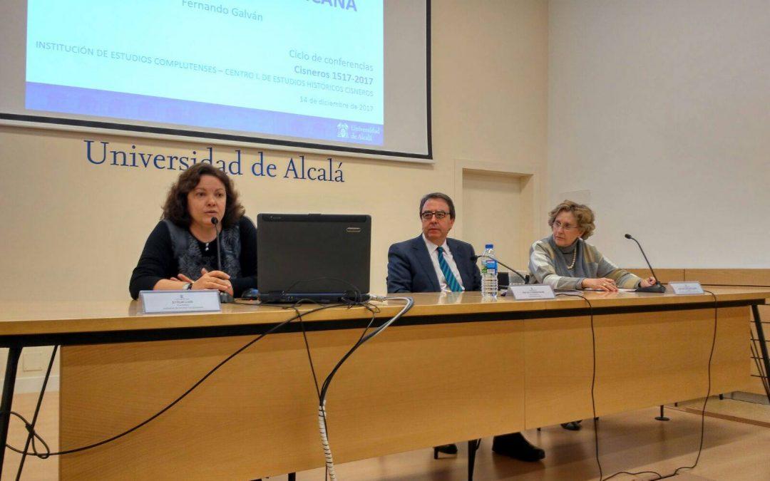 Ciclo de Conferencias Cisneros 1517-2017