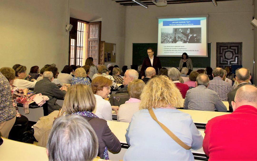 """Acaba el Ciclo de Conferencias """"Las mujeres de Alcalá. Un paseo por su historia"""""""